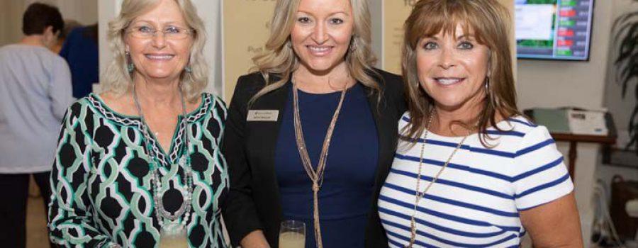 "Brenda Lloyd at the ""Big Apple"" themed Bingo Luncheon for the Senior Resource Association!"